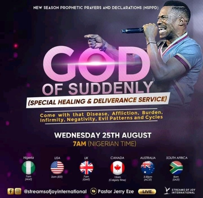 Live NSPPD Jerry Eze Prophetic Prayers 25 August 2021 |FIRE PRAYERS|