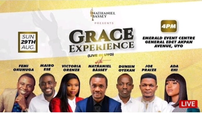 Nathaniel Bassey Visits Uyo For Grace Experience 2021 Today