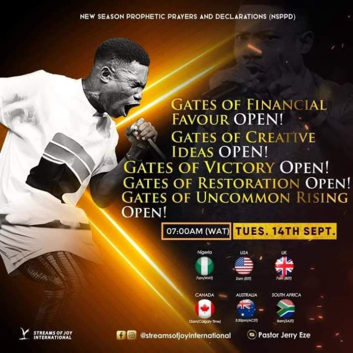 NSPPD Live Jerry Eze 14 September 2021 - Gates of Financial