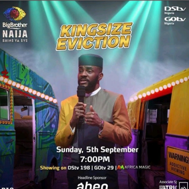 Live BBNaija Eviction Show 5th September 2021 at 7pm |KINGSIZE|