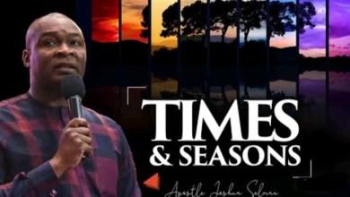 Joshua Selman Daily Sermons 9 September 2021  Times & Seasons 
