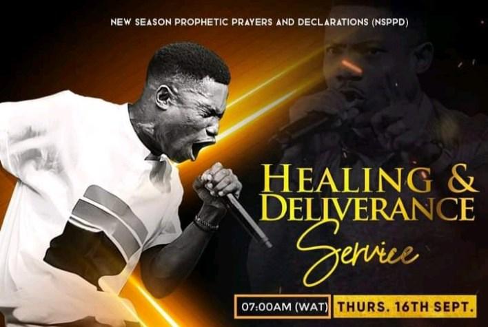 Live NSPPD Prophetic Prayers Jerry Eze 16 September 2021 - Healing