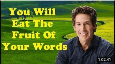 Joel Osteen Inspirational Message 19 Sunday 2021 - You Will Eat