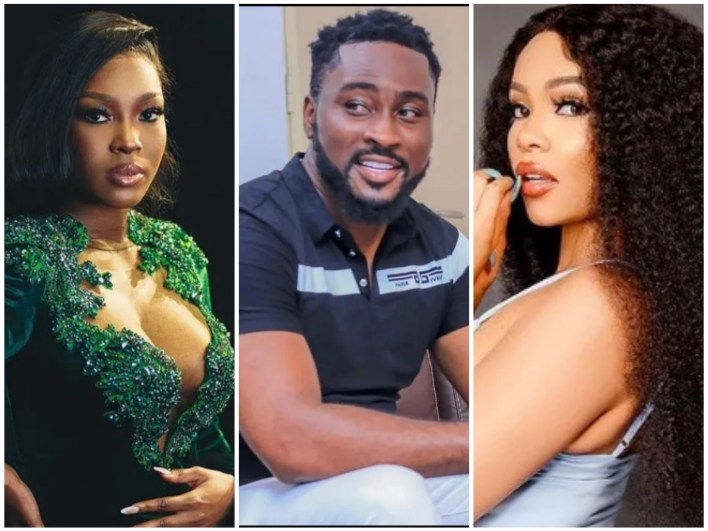 BBNaija Pere Sets His Eyes on Vee and Nengi, He Wants Them in Bed