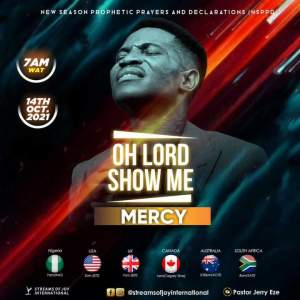 NSPPD Morning Prayers Jerry Eze 14 October 2021 - Oh Lord, Mercy