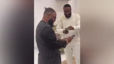 BBNaija Whitemoney Parties With KCee and E-money in Style