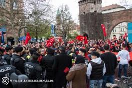 Kundgebung am Sendlinger Tor