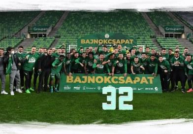 Így ünnepelte a Ferencváros a bajnoki címet a Groupama Arénában (fotók)