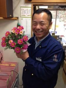 池田さんとお花