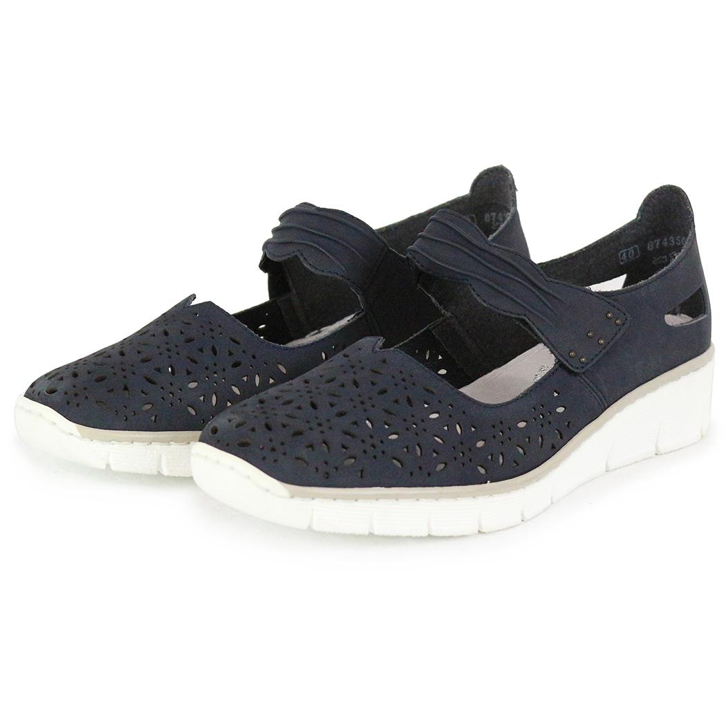 Pantofi Rieker Bleumarin