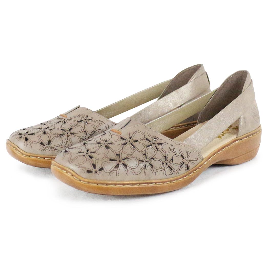 Pantofi Rieker Bej