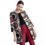 Jachetă Hermosa Imprimeu Multicolor