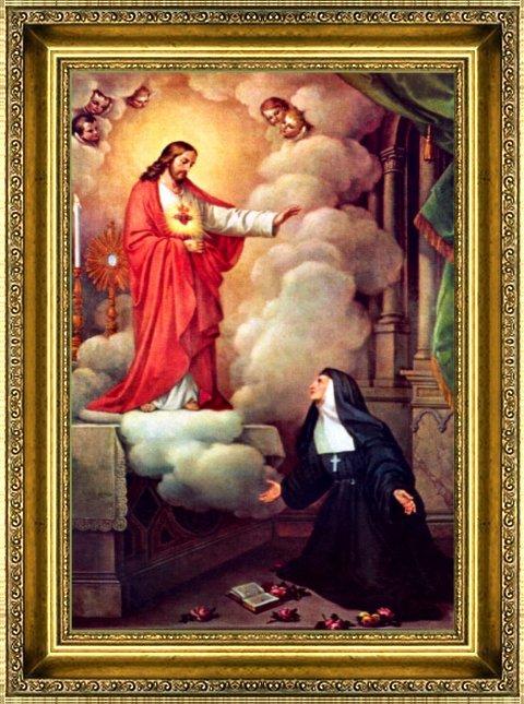 Résultats de recherche d'images pour «Sainte Marguerite-Marie»