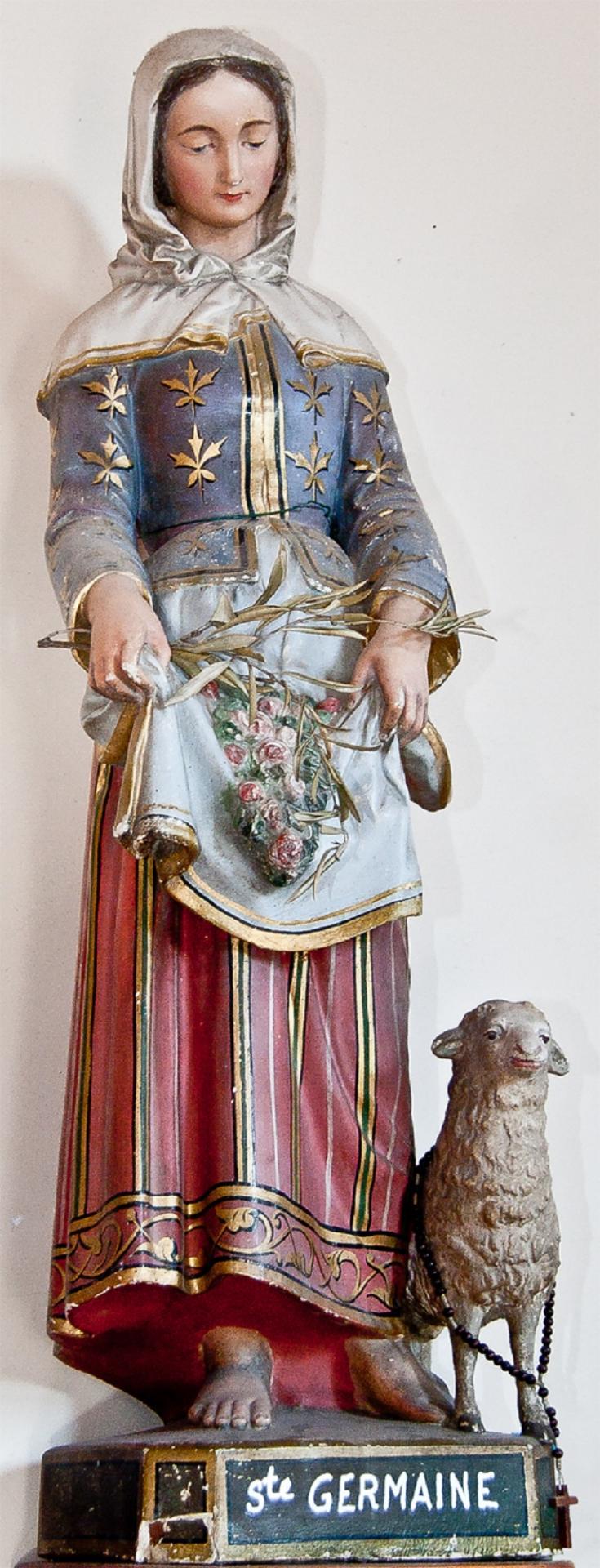 Sainte Germaine Cousin, vierge (1579-1601). Fête le 15 Juin.
