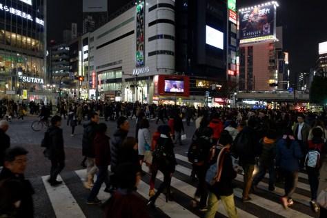 Tokyo : Carrefour de Shibuya