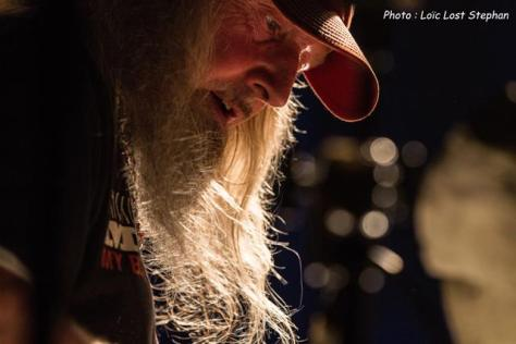 La photo de concert Seasick Steve