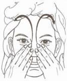 face reflexology massage