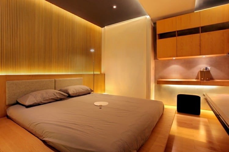 Reflexology sexual room