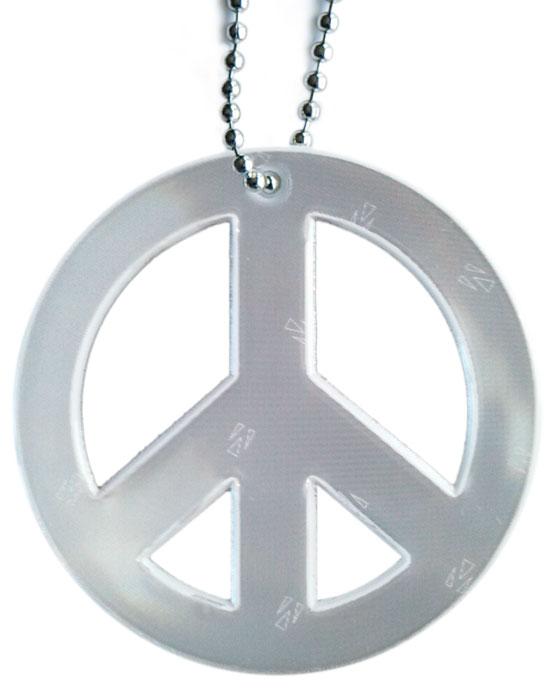 Peace symbol hengerefleks