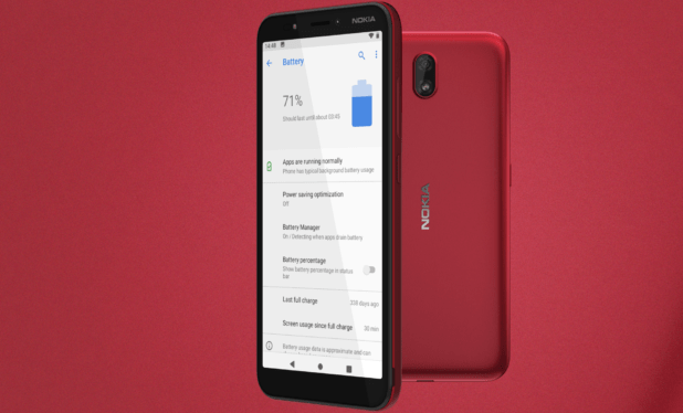 Nokia C1 Launches Specification and Price in Pakistan