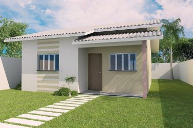 casa projeto quartos completo popular