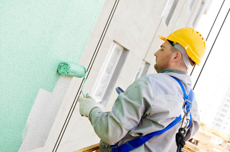 La importancia de la pintura de la fachada del edificio - Reformas getafe ...