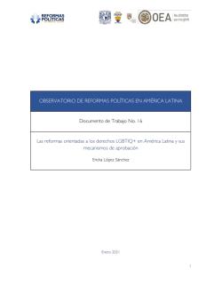 Reformas a las organizaciones de partidos_PUCP_2016