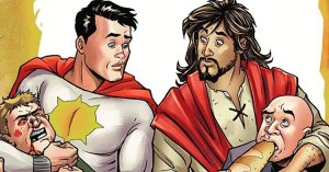 DC Comis Presents Jesus as New Superhero Who Teams Up With Pagan Sun-Man To 'Correct the World's Mutilation of His Gospel'