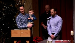 Catholic Priest Gives Pulpit to Gay Couple to Share Journey on Raising IVF Baby