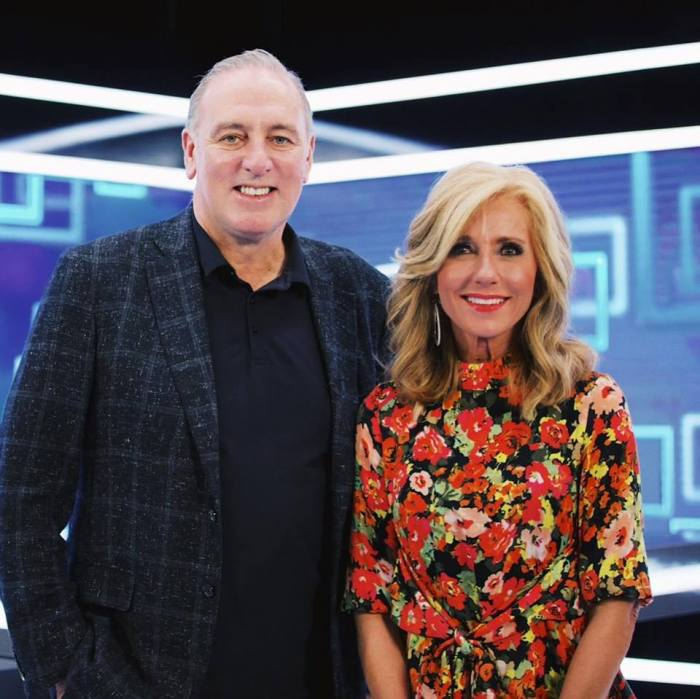 Beth Moore with Brian Houston