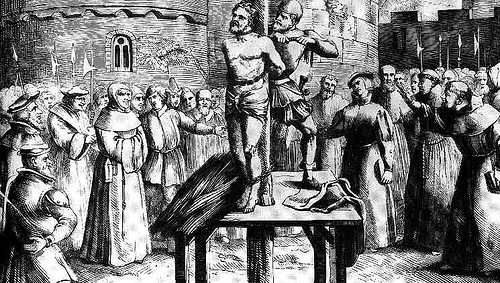 william tyndale burned stake