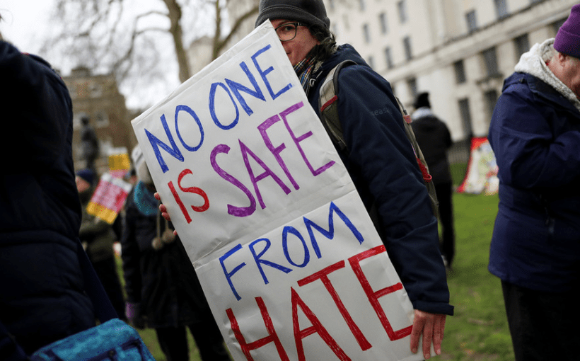 no place safe from hate