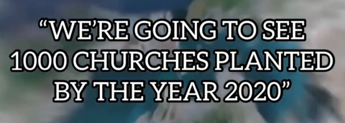"""Phil Pringle, """"We're going to see 1000 churches planted by the year 2020"""""""