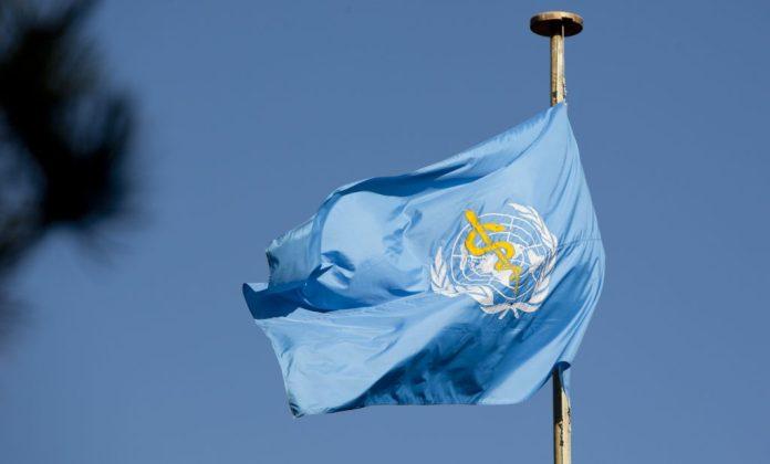 WHO world health organization flag