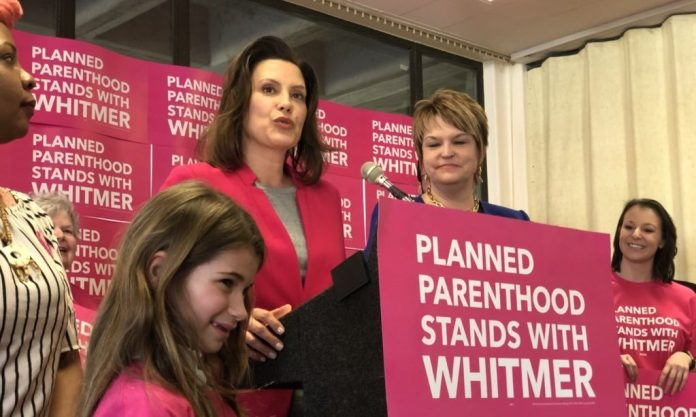 Whitmer Planned Parenthood