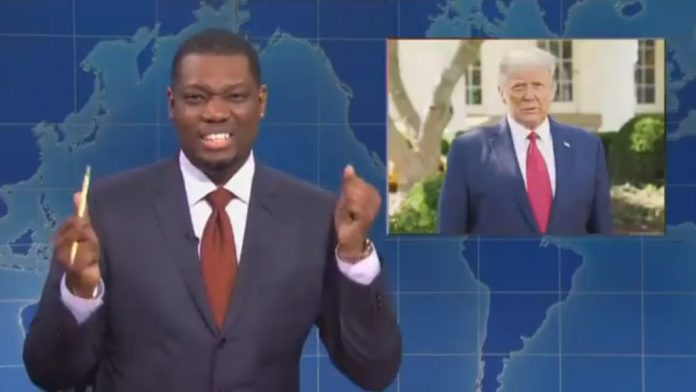 Michael Che SNL host upset Trump survived coronavirus