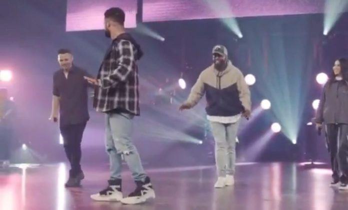 furtick walk on water contest