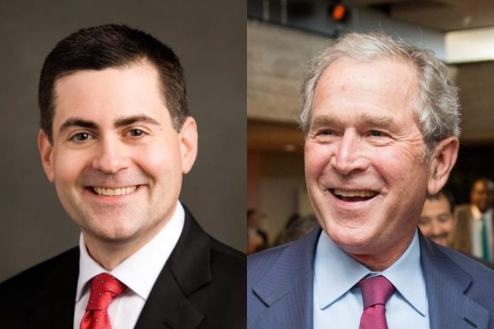 Russell Moore and George W. Bush