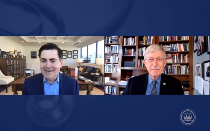 Dr. Francis Collins and Russell Moore