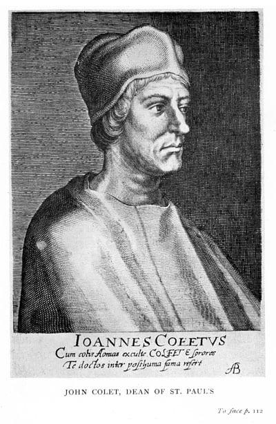 John Colet, Dean of St Pauls