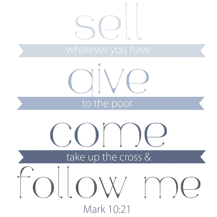 Mark 10:17-22 – Jesus and the Rich Young Ruler (Teaching Outline