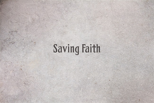 Saving-Faith