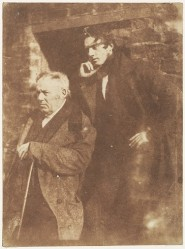 Samuel Miller the Younger with his father