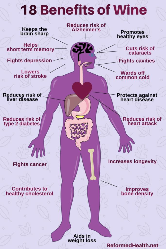18 Benefits of Wine