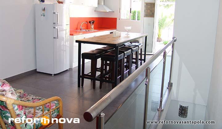 Reforma de bungalow en Gran Vista Gran Alacant