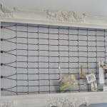 Repurposed Bed Springs Memo Holder