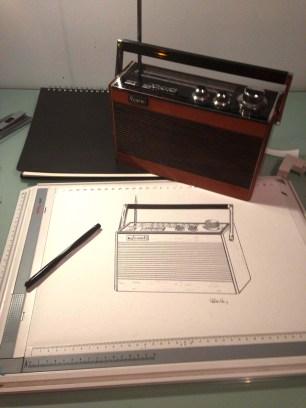 Deborah's radio and her design