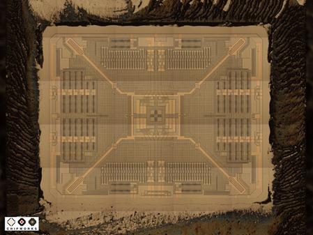 Chipworks MEMS gyroscope die