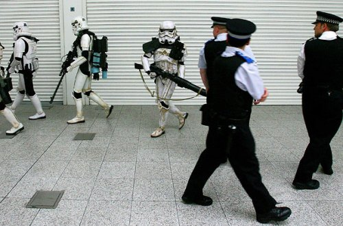 Stormtroopers and London Police