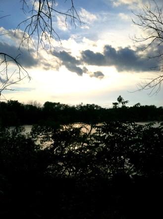 sky over fox river
